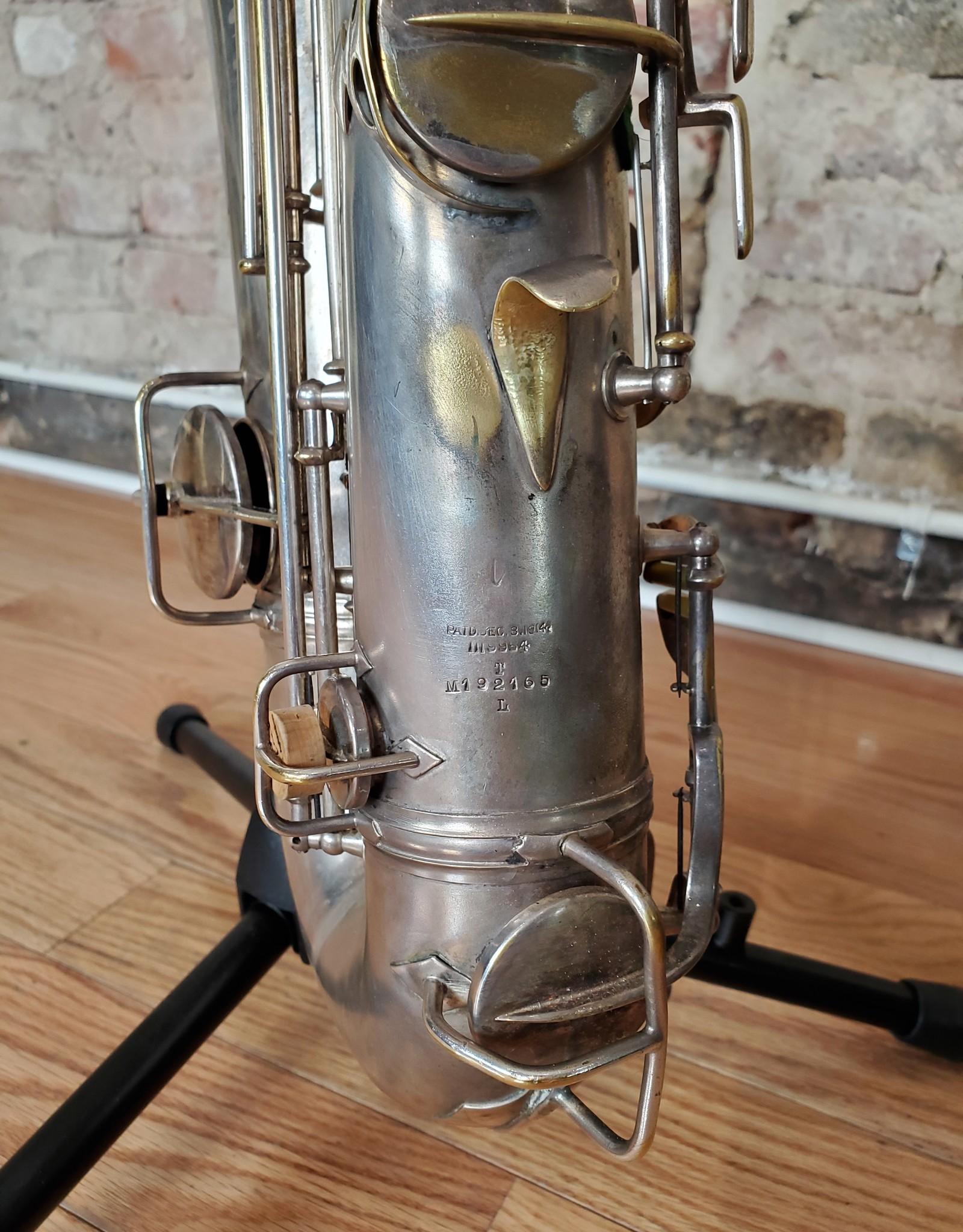 Conn Conn New Wonder Series II Tenor Silver Plated 1926