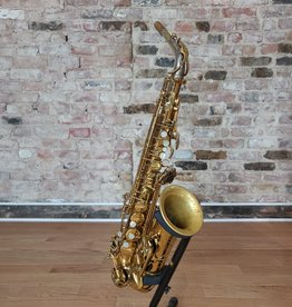 Selmer Selmer Mark VI original lacquer alto 187XXX with silver plated mark VI neck.