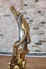 Selmer Selmer Mark VI original lacquer alto 187XXX with silver plated mark VI neck.
