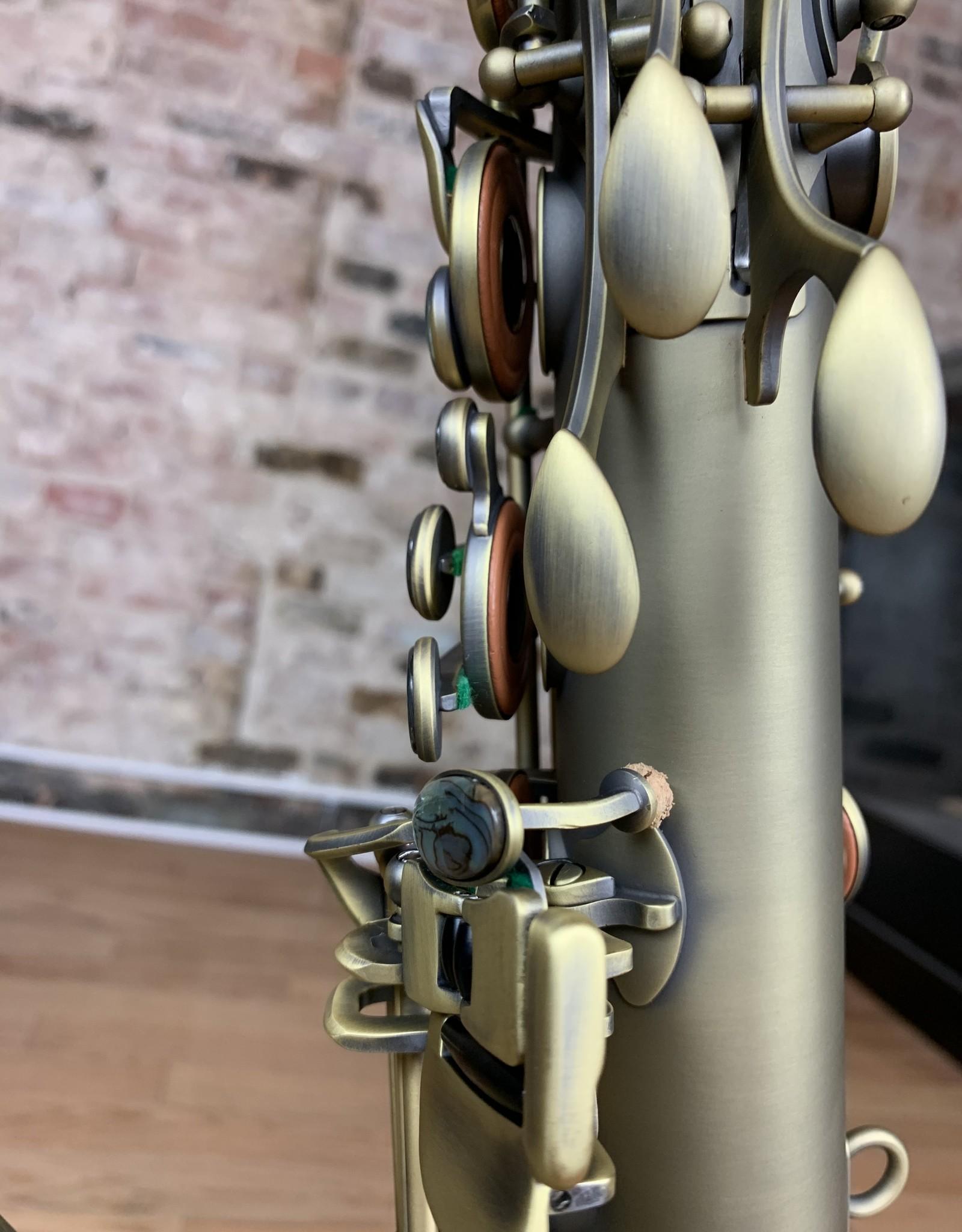 P. Mauriat P. Mauriat PMXT-66R Series Professional Tenor Saxophone  Dark Lacquer