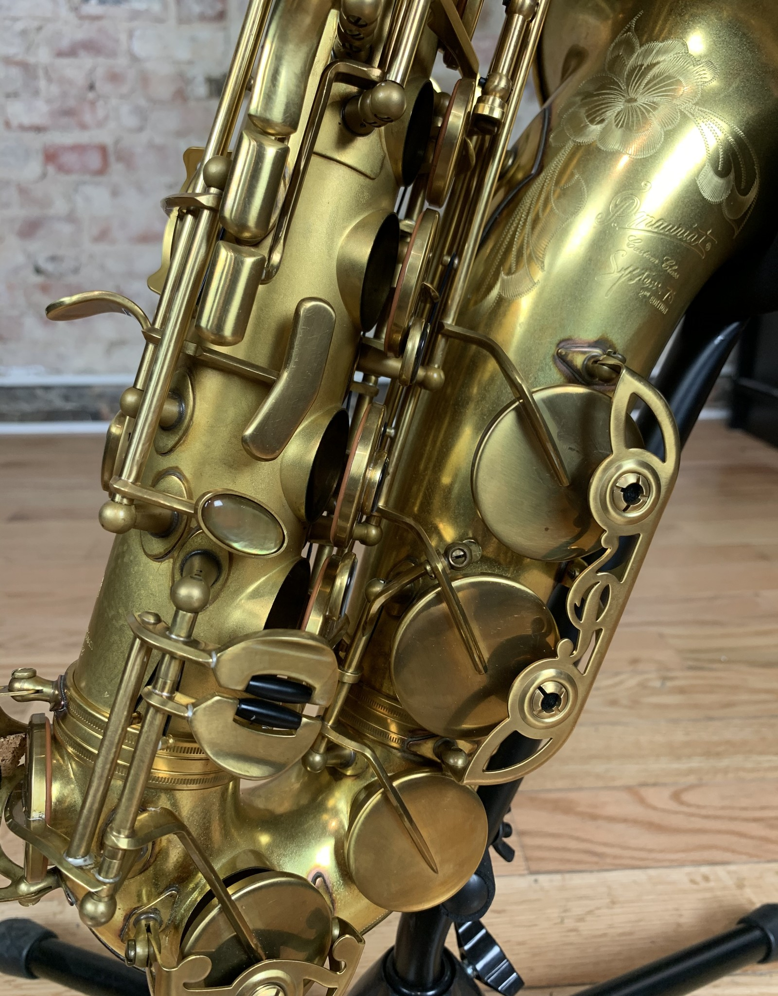 P. Mauriat P. Mauriat System 76 2nd Edition Alto Saxophone Unlacquered