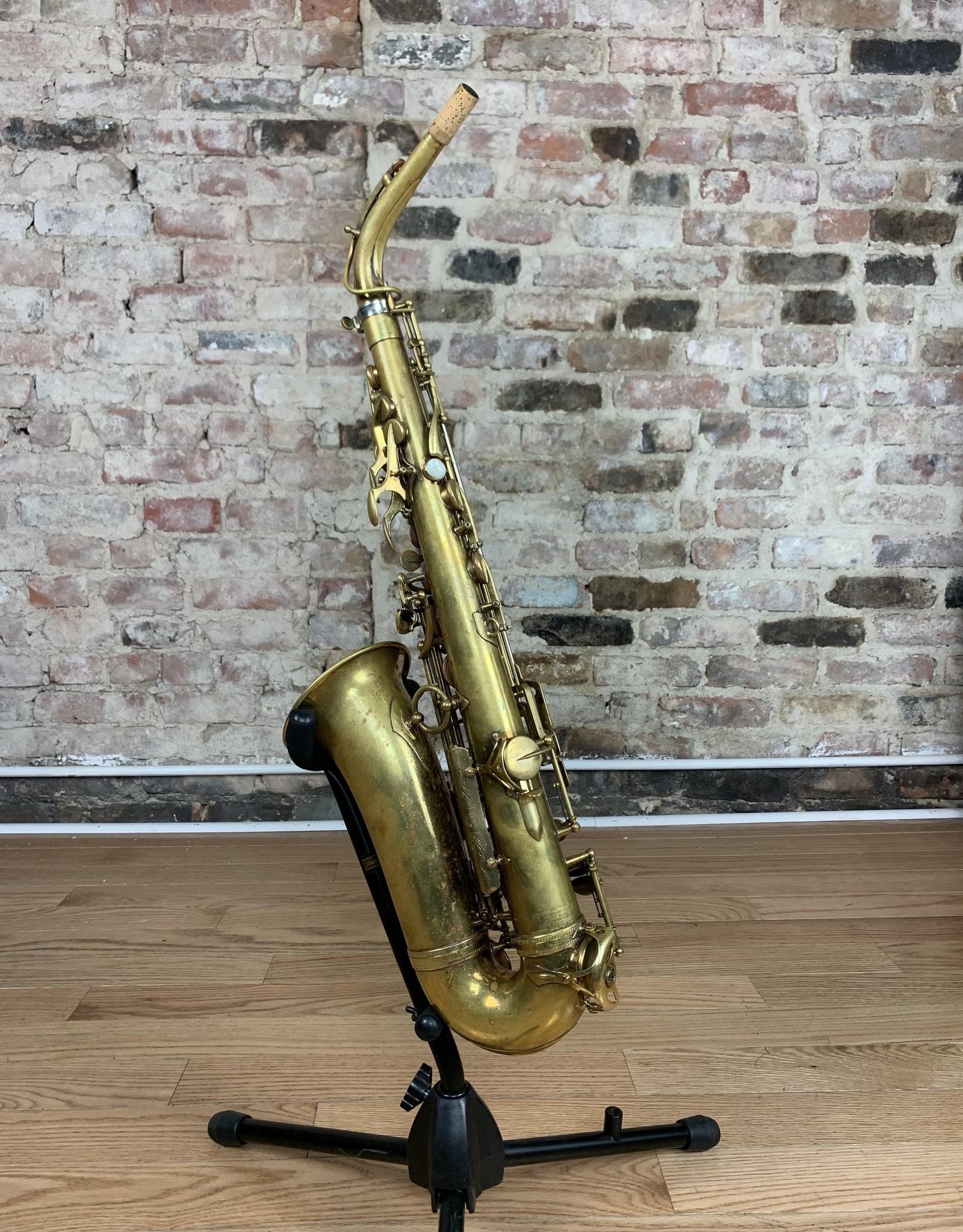Selmer Selmer Super Balanced Action Alto Saxophone Unlacquered Fully overhauled