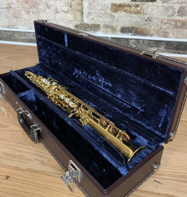 Yamaha Yamaha 62R Purple label soprano saxophone with semi curved one piece neck factory mint