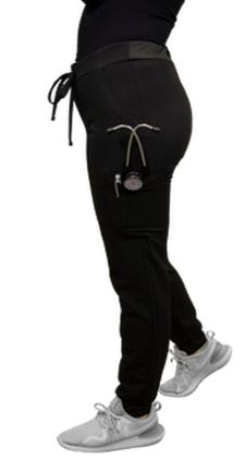 Black Excel Women's Jogger Scrub Pants 996