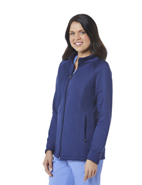 BLAZE Navy Blue Blaze Women's Warm Up Jackets 3812