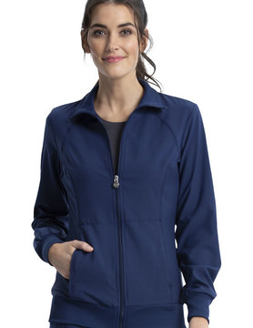 CHEROKEE Navy Blue Cherokee Women's Warm Up Jacket 2391A