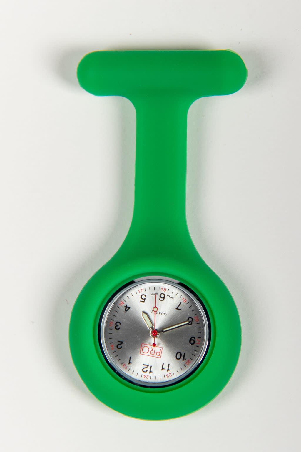 PRO Green Lapel Watch