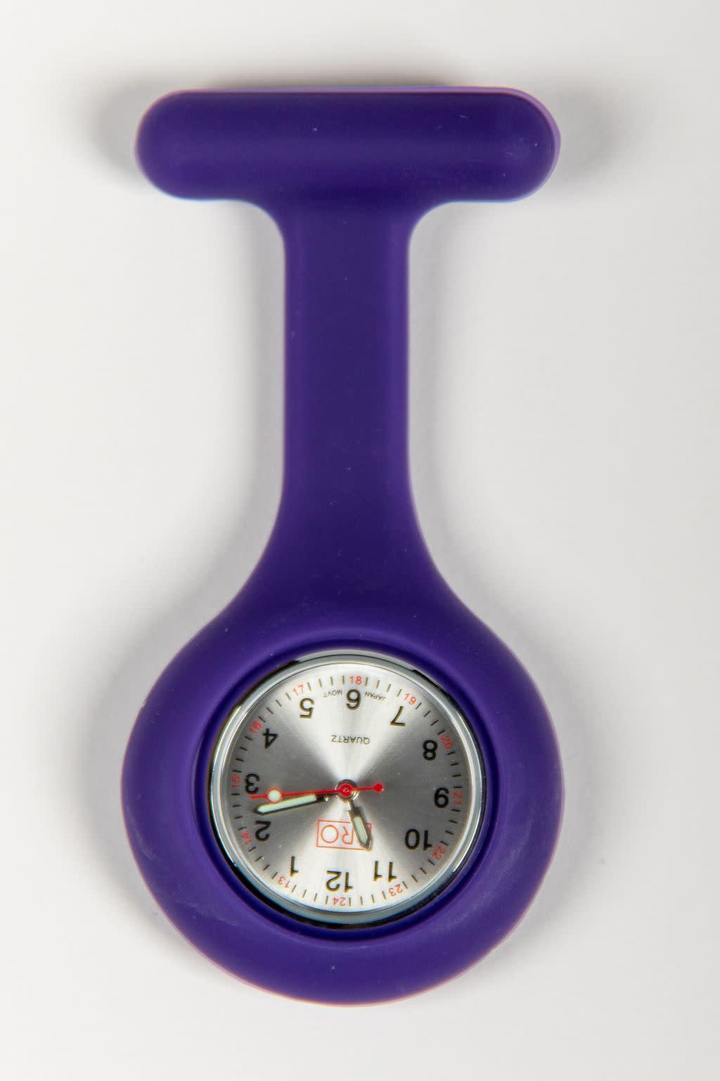 PRO Purple Lapel Watch
