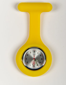 PRO Yellow Lapel Watch