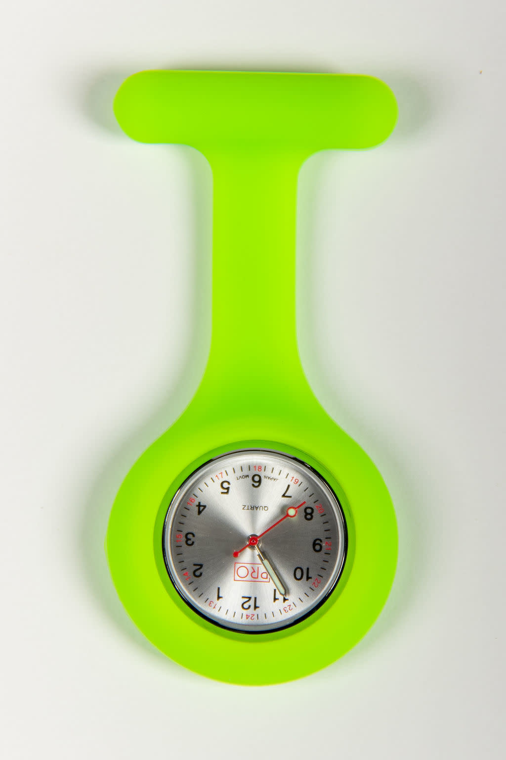 PRO Lime Green Lapel Watch