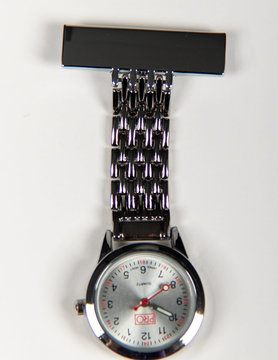 PRO Chrome Lapel Watch