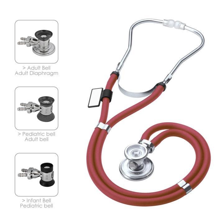 MDF Burgundy Stethoscope