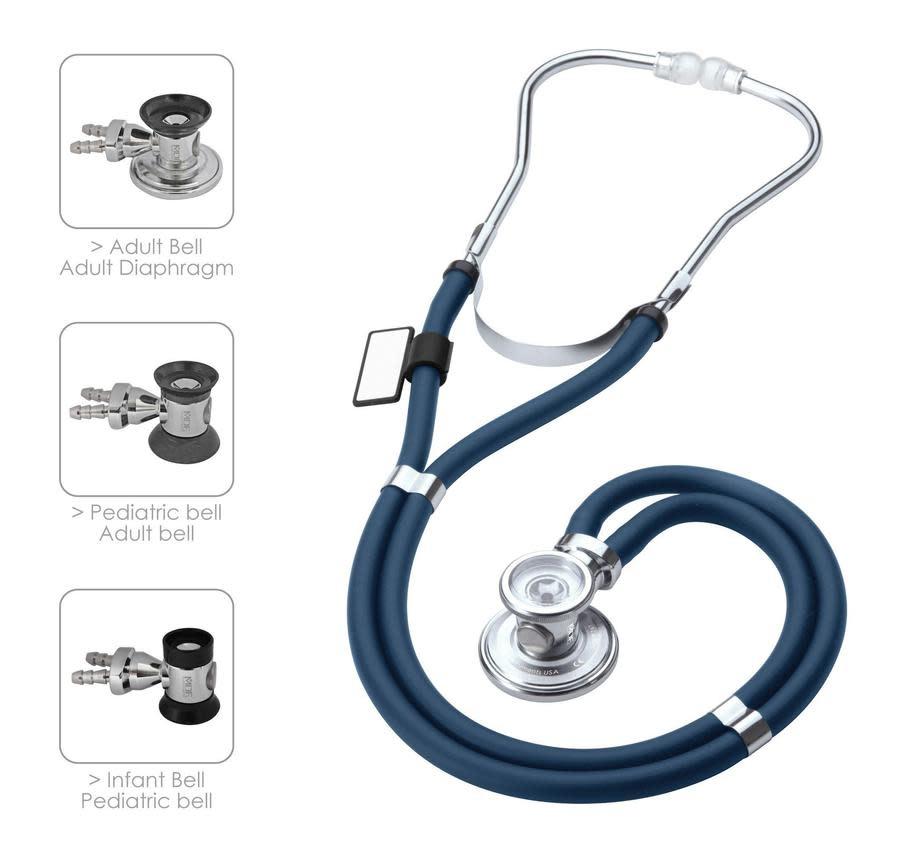 MDF Navy Blue Stethoscope