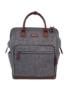 READY GO Clinical Backpacks Heather Grey