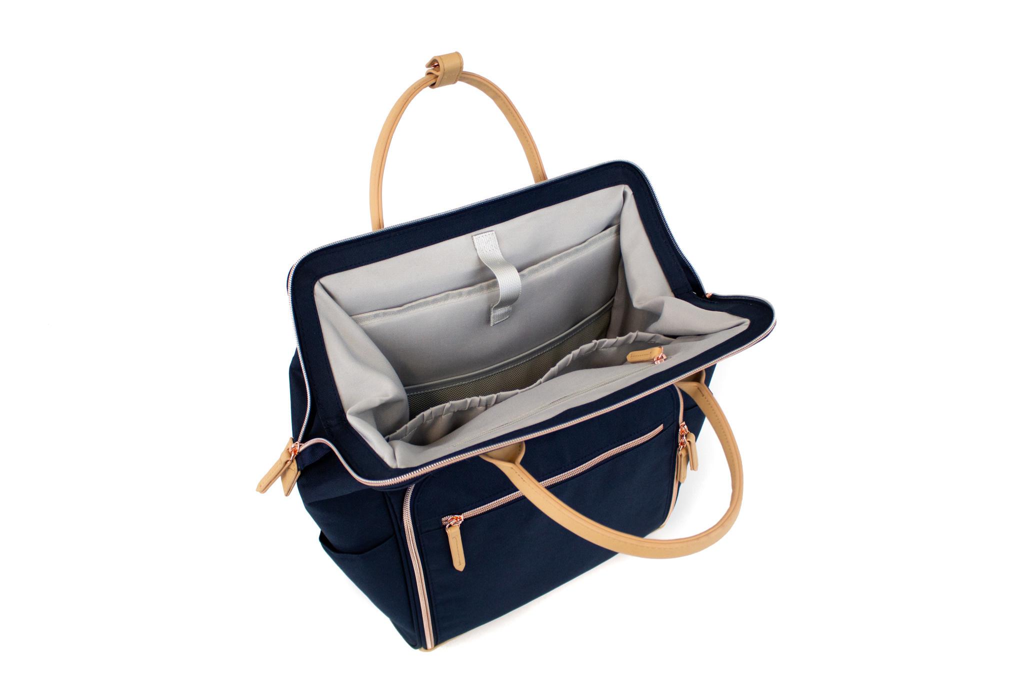 READY GO Clinical Backpacks Navy Blue
