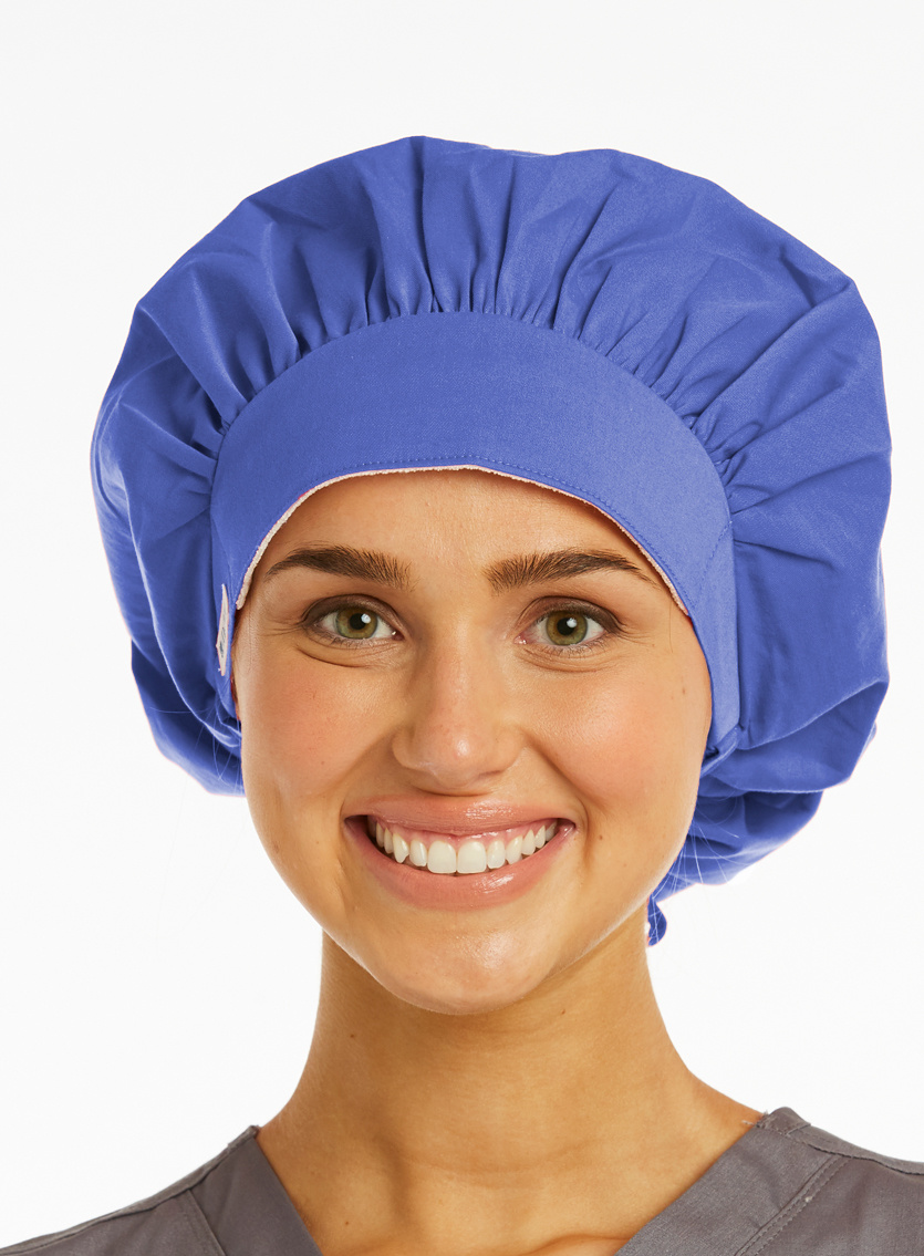 Ciel Blue Ladies' Bouffant Scrub Hats