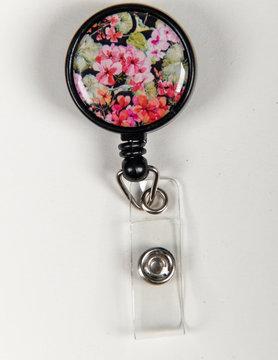 Other Badge Reels Floral