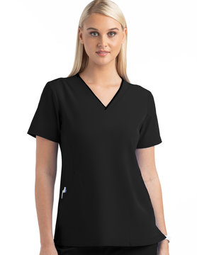 MATRIX IMPULSE Black Matrix Impulse Women's Tops 4510