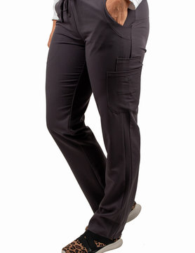 EXCEL Carbon Women's Drawstring Waistband Fitted Pants 960