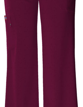 DICKIES Wine Midrise Drawstring Women's Cargo Pants 82011