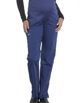 CHEROKEE WORKWEAR Navy Blue Maternity Pants 4208
