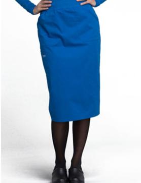 CHEROKEE WORKWEAR Royal Blue Drawstring Skirts 4509