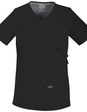 CHEROKEE WORKWEAR Black Cherokee Workwear Maternity Top 4708