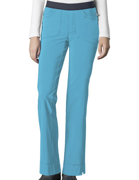 CHEROKEE Cherokee Turquoise Low Rise Pull-On Women's Scrub Pants 1124A