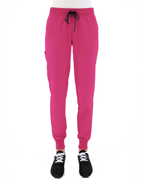 MATRIX IMPULSE Hot Pink Yoga Waistband Women's Jogger Pants 8520