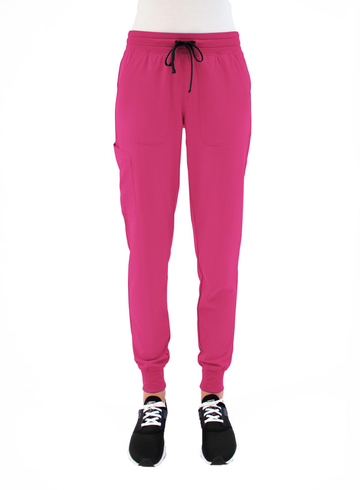MATRIX IMPULSE Hot Pink Yoga Waistband Women's Jogger Pants 8520