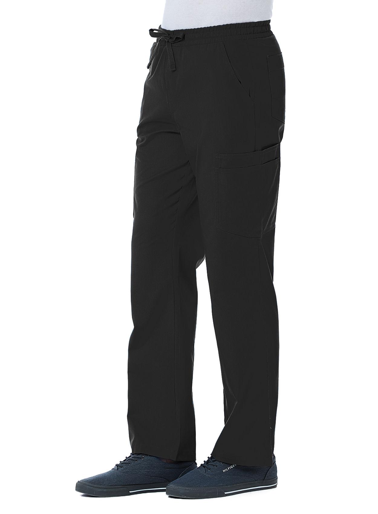 RED PANDA Black Men's Cargo Pants 8206T