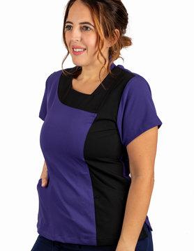 Grape Excel Contrast Women's Top 619