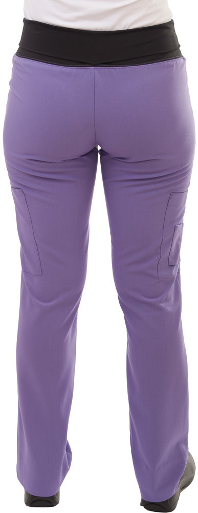 Lavender Women's Yoga Waistband Pants 985