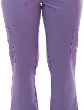 Excel Lavender Women's Yoga Waistband Scrub Pants 985