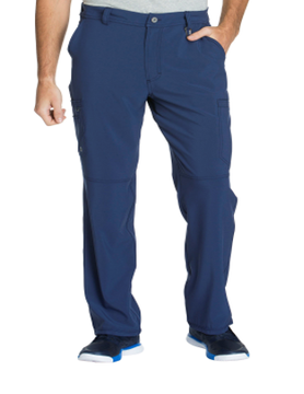 CHEROKEE Navy Blue Men's Fly Front Pants CK200A