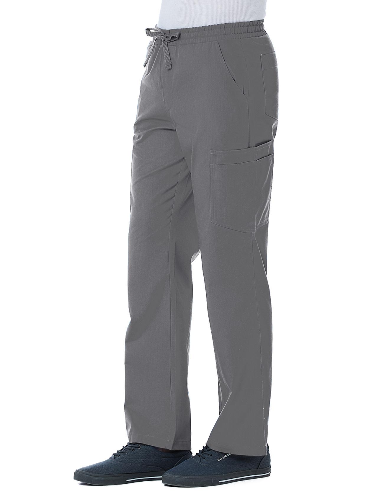 RED PANDA Pewter Grey Men's Cargo Pants 8206T
