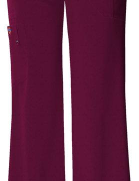 DICKIES Dickies Wine Midrise Drawstring Women's Cargo Scrub Pants 82011