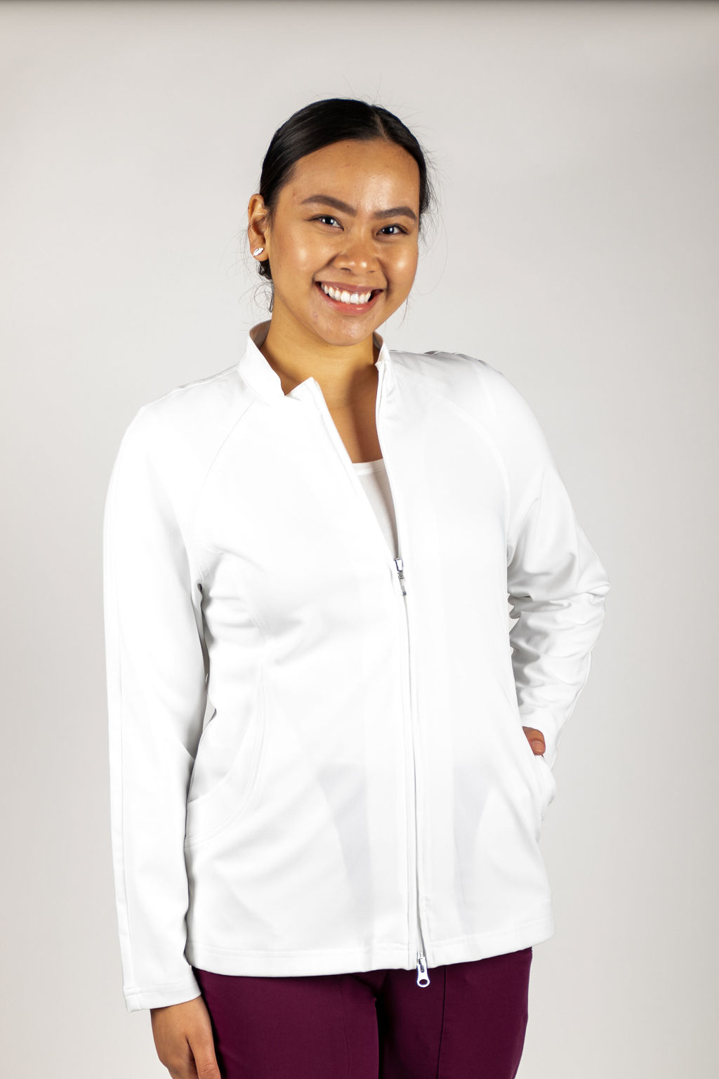 White Excel Women's Jacket 805