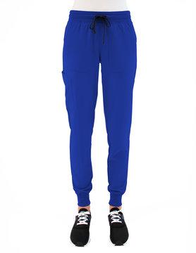 MATRIX IMPULSE Matrix Impulse Royal Blue Yoga Waistband Women's Jogger Scrub Pants 8520