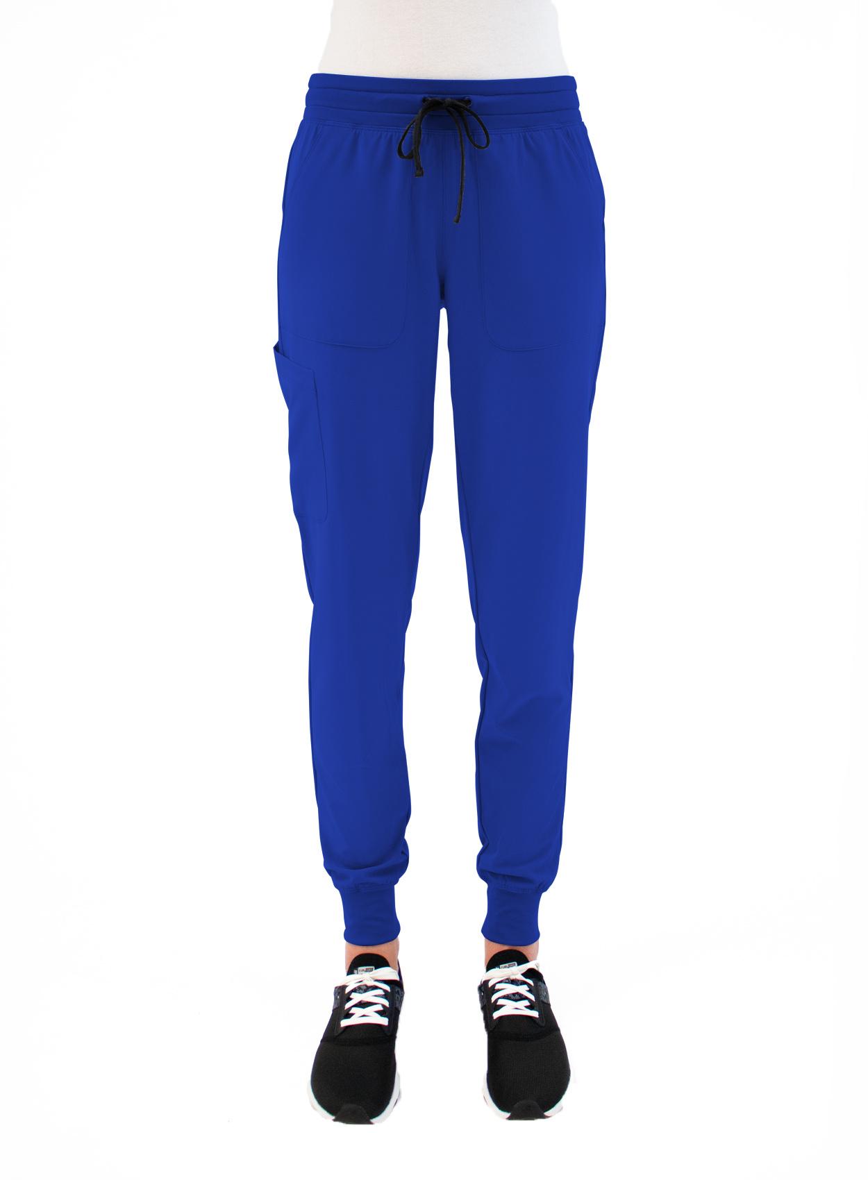MATRIX IMPULSE Royal Blue Yoga Waistband Women's Jogger Pants 8520