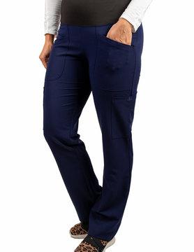 Excel Navy Blue Women's Yoga Waistband Excel Scrub Pants 985