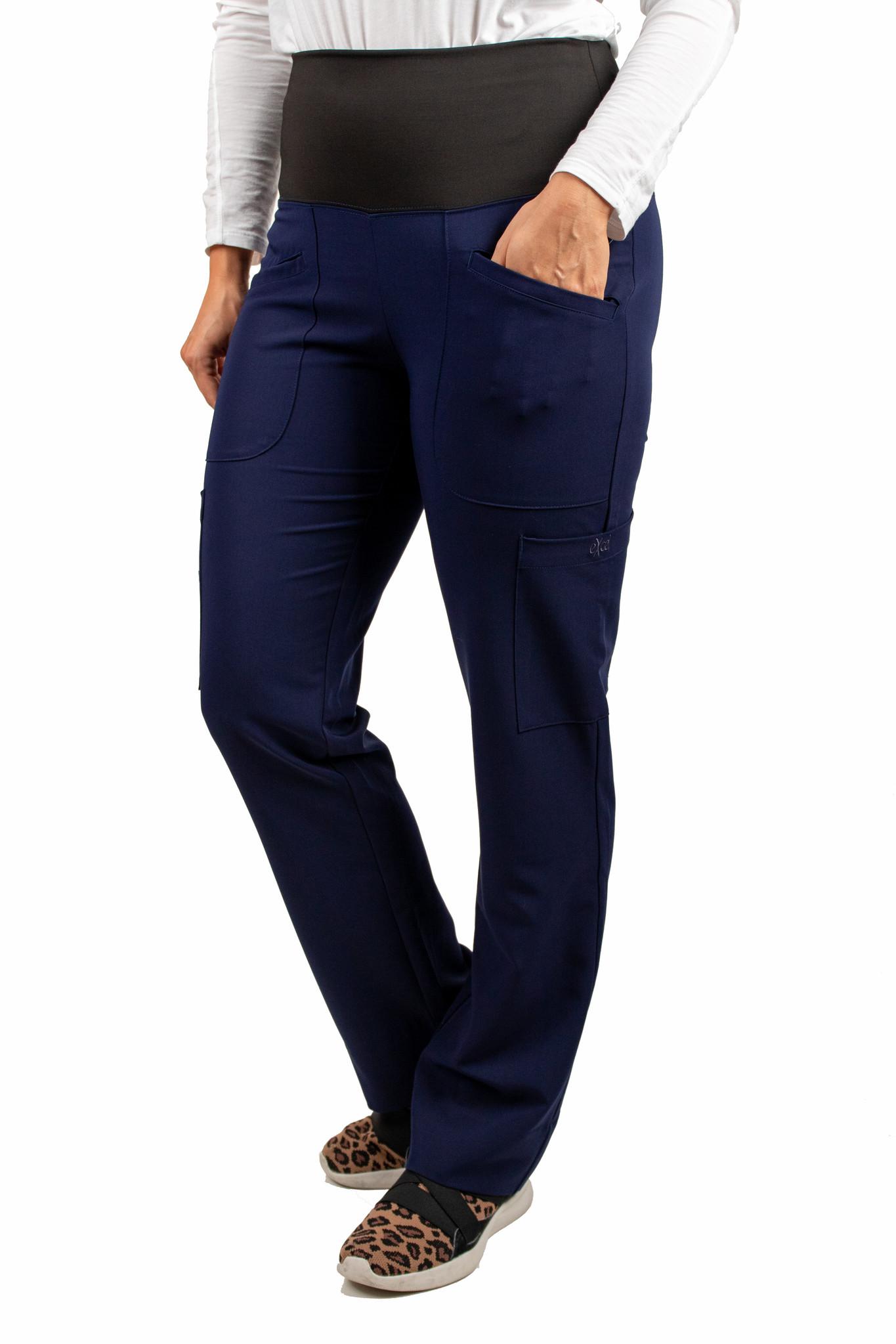 Navy Blue Women's Yoga Waistband Excel Pants 985