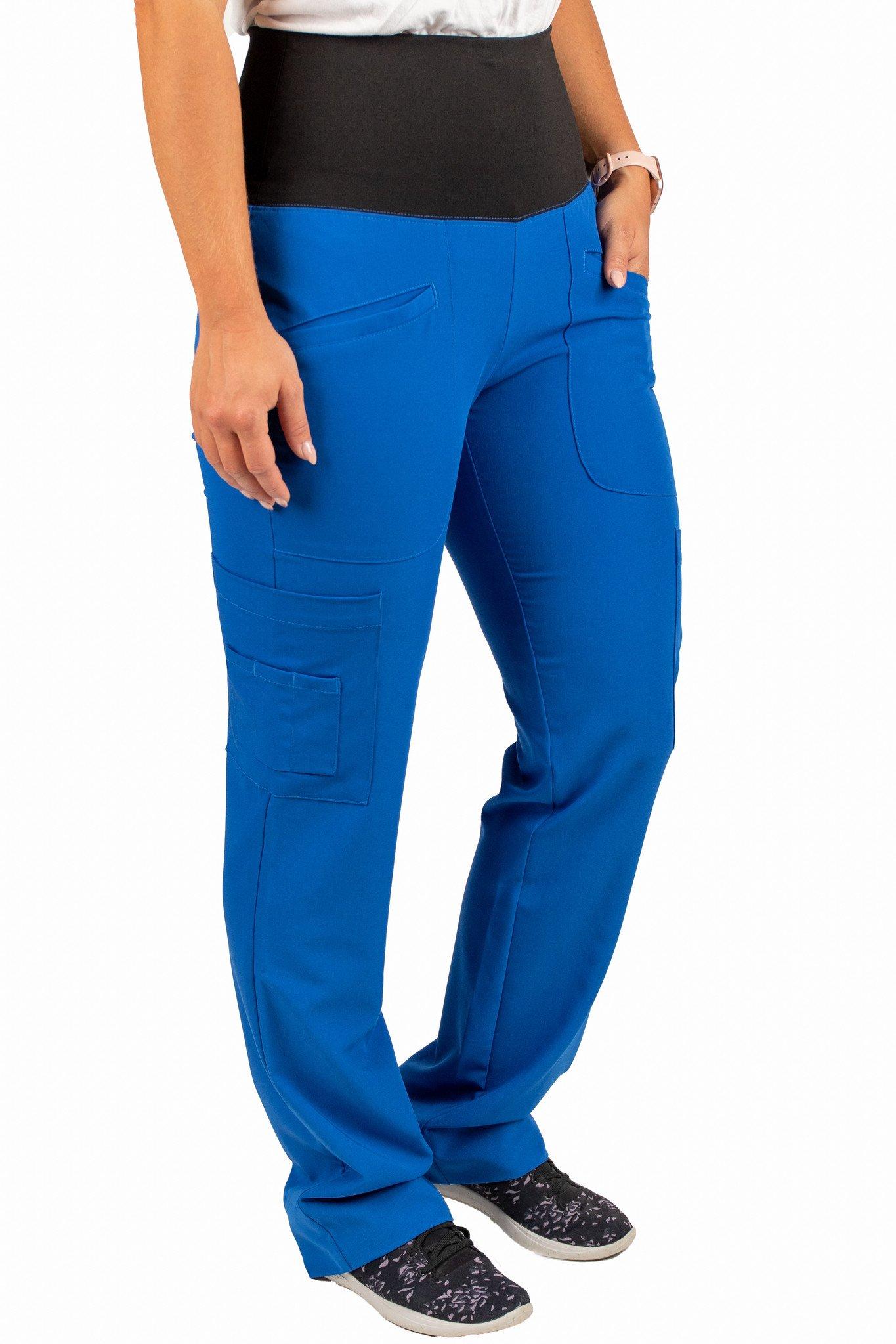 Royal Blue Women's Yoga Waistband Pants 985