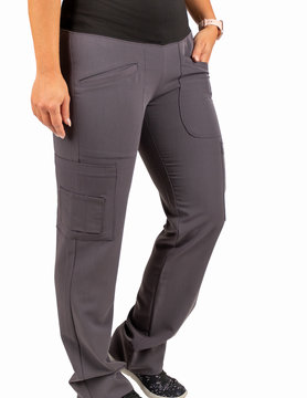 Excel Carbon Women's Yoga Waistband Scrub Pants 985