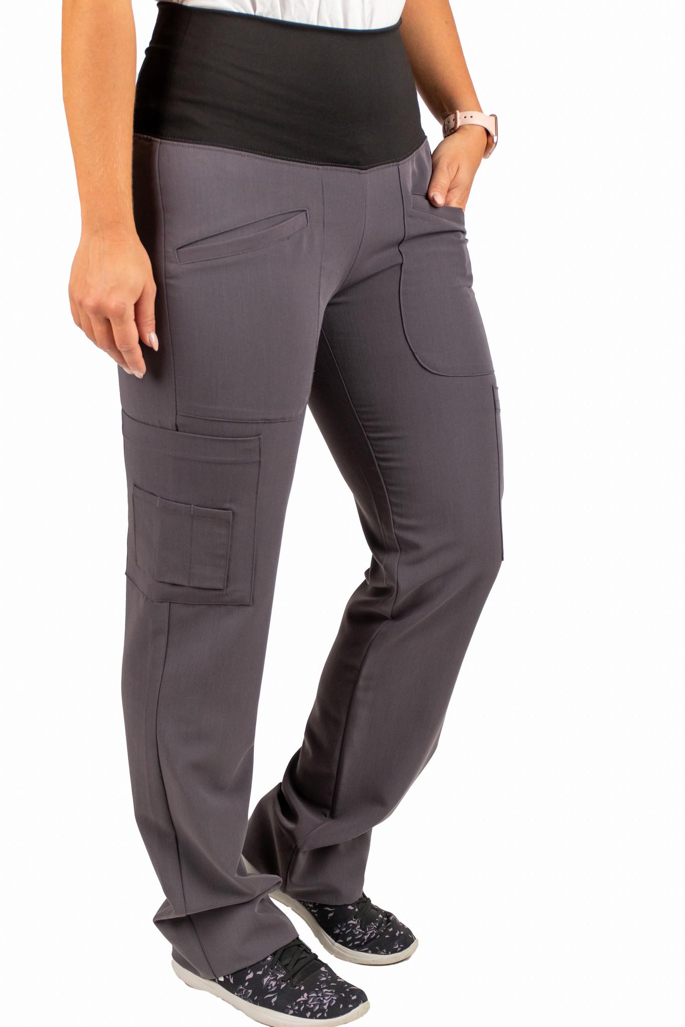 Carbon Women's Yoga Waistband Pants 985