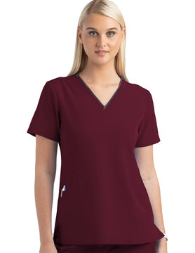 MATRIX IMPULSE Wine Matrix Impulse Women's Tops 4510