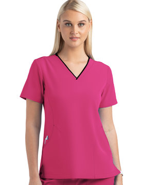 MATRIX IMPULSE Hot Pink Matrix Impulse Women's Top 4510