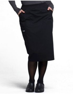CHEROKEE WORKWEAR Cherokee Workwear Black Drawstring Scrub Skirt 4509