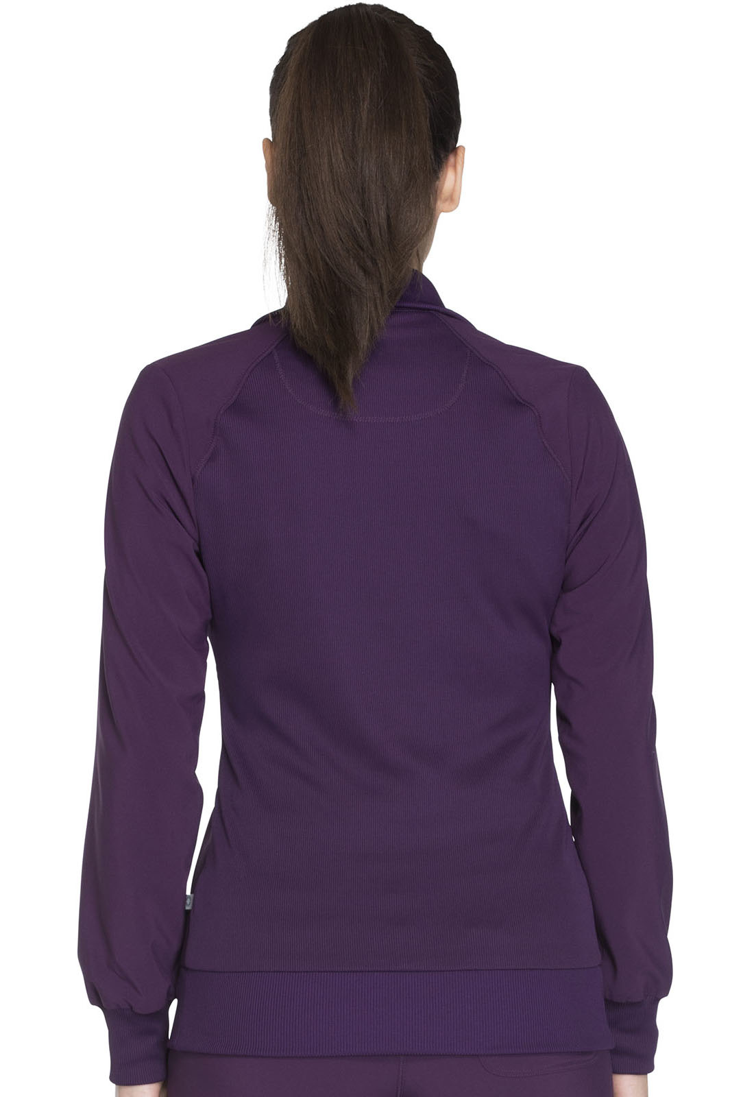 CHEROKEE Eggplant Cherokee Women's Warm Up Jacket 2391A