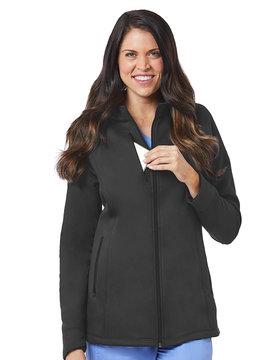 BLAZE Blaze Pewter Grey Women's Warm Up Jackets 3812